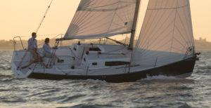 Voilier J 97 en navigation